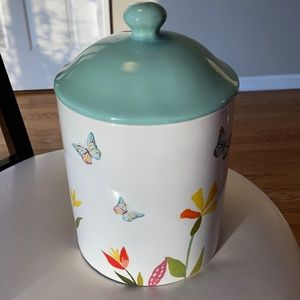 Butterfly Cookie Jar Canister